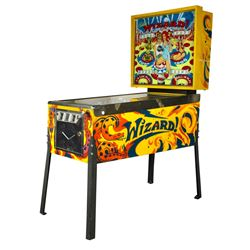 """Bally """"Tommy"""" Wizard Pinball Machine."""