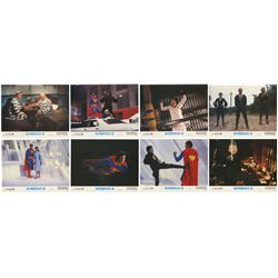 "Set of (8) ""Superman II"" Lobby Cards."