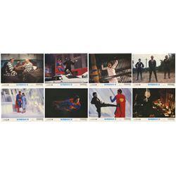 "Set of (8) ""Superman II"" Lobby Cards."