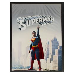 """""""Superman"""" Touched-Up Poster Artwork."""