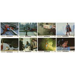 "Set of (8) ""Superman"" Lobby Cards."