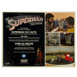 """Superman the Movie"" Cut-Out Dioramas."