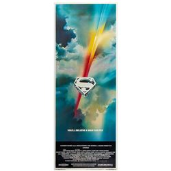 """Superman"" Insert Poster."