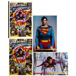 "Set of (4) ""Superman"" Thought Factory Posters."
