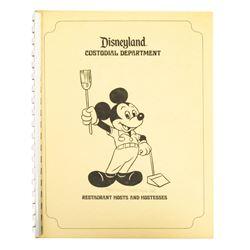 Custodial Department Restaurant New Hire Booklet.