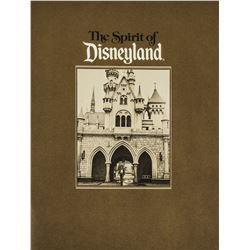 """""""The Spirit of Disneyland"""" 30th Anniversary Book."""