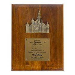 Disneyland 10 Year Cast Member Service Award.