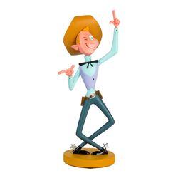 """Frontierland Cowboy"" Cast Member Figure."
