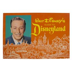 1963 Disneyland Guidebook.