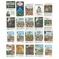 Collection of (20) INA Disneyland Guides.