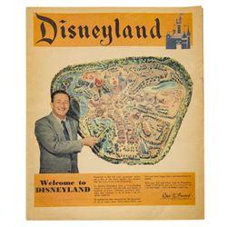 """Welcome to Disneyland"" Newspaper Supplement."
