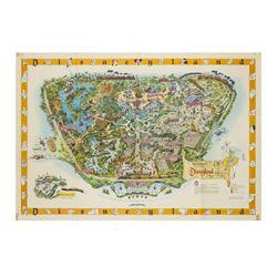 "Disneyland 1958 ""B"" Map."