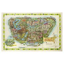 Disneyland Souvenir Map 1964-B.
