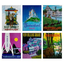 Complete Set of (6) Near-Attraction Posters.
