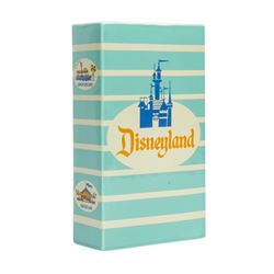 Ceramic Disneyland Popcorn Box Replica.