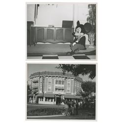 Pair of Wurlitzer Music Hall Photos.