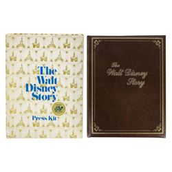 """The Walt Disney Story"" Press Kit & Gift."