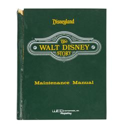 """The Walt Disney Story"" WED Maintenance Manual."