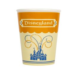 "Ceramic Disneyland ""Paper Cup"" Limited Edition."