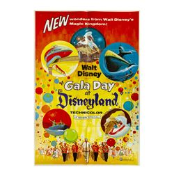 """Gala Day at Disneyland"" Movie Poster."