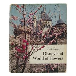 "Disneyland ""World of Flowers"" Hardcover Book."
