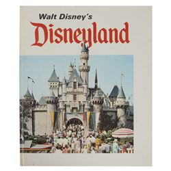 1969  Walt Disney's Disneyland  Hardcover Book.