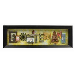 """""""Frontierland"""" Dave Avanzino Dimensional Artwork."""