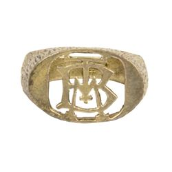 """Big Thunder Mountain"" Cast Member Logo Ring."