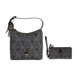 "Dooney & Bourke ""Haunted Mansion"" Bag & Wallet."