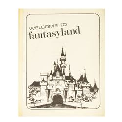 """Welcome to Fantasyland"" Employee Operations Manual."