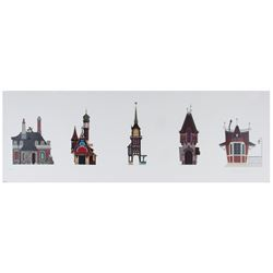 """Fantasyland Elevations"" Disney Gallery Art Print."