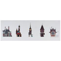 """Fantasyland Elevations"" Disney Gallery Art Print."