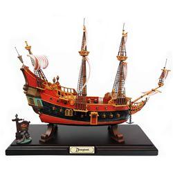 "Disneyland ""Pirate Ship Restaurant"" Replica."