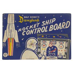 "Disneyland ""Rocket Ship Control Board"" Toy."