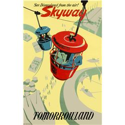 """Skyway"" Attraction Poster."