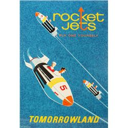 """Rocket Jets"" Attraction Poster."