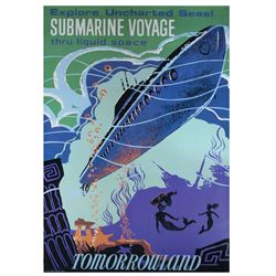"""Submarine Voyage"" Disney Gallery Attraction Poster."