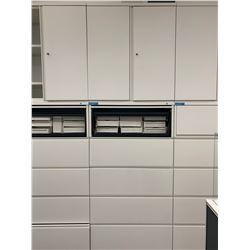 Herman Miller Metal Filing Cabinet w/ Storage Cab