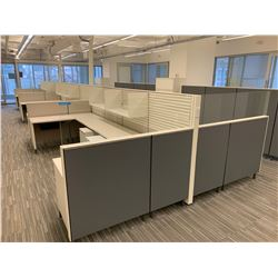 12 x Herman Miller Work Station Cubicles