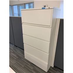 Herman Miller 5 Door Filing Cabinet