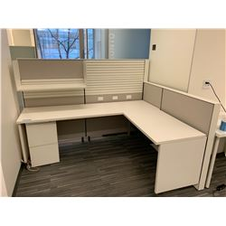 1 x Herman Miller Work Station Cubicles