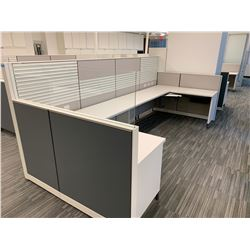 2 x Herman Miller Work Station Cubicles