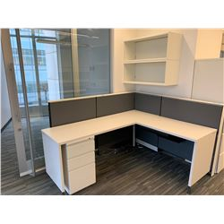 1 x Herman Miller Workstation Cubicle