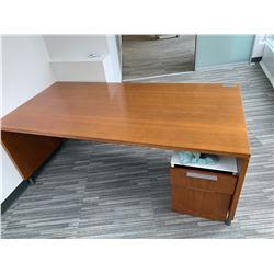Herman Miller Executive Wooden Desk