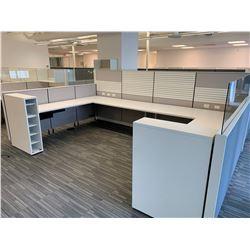 4 x Herman Miller Workstation Cubicles.