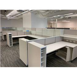 10 x Herman Miller Workstation Cubicles