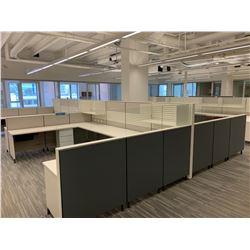 8 x Herman Miller Workstation Cubicles