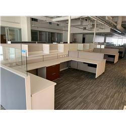 12 x Herman Miller Workstation Cubicles