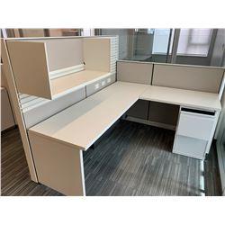 3 x Herman Miller Workstation Cubicles