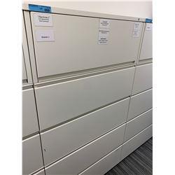 Herman Miller 5 Door Drawer Cabinet